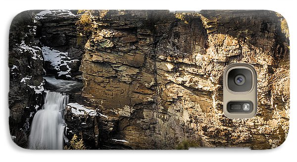 Galaxy Case featuring the photograph Linville Falls by Serge Skiba