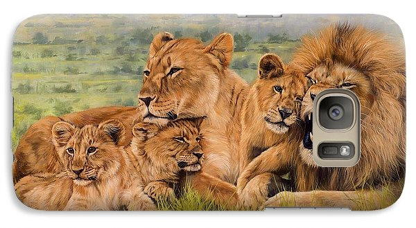 Lion Family Galaxy S7 Case