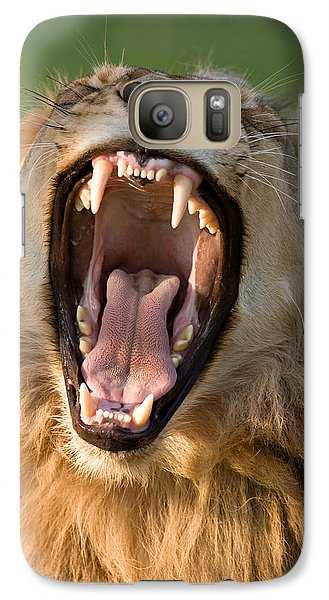 Lion Galaxy S7 Case by Johan Swanepoel