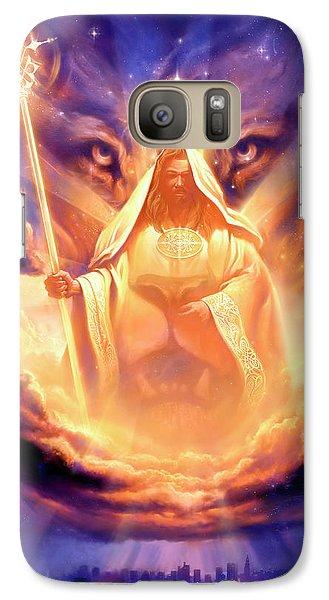 Lion Galaxy S7 Case - Lion Of Judah by Jeff Haynie