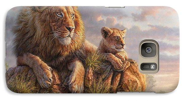 Lion Galaxy S7 Case - Lion Pride by Phil Jaeger