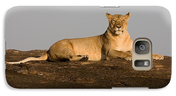 Galaxy Case featuring the photograph Commanding View by Chris Scroggins