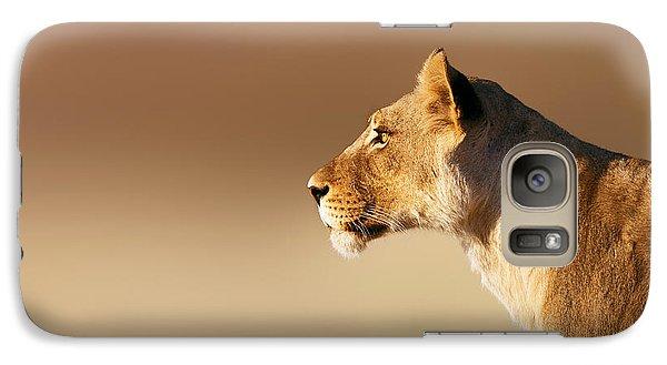 Lioness Portrait Galaxy S7 Case