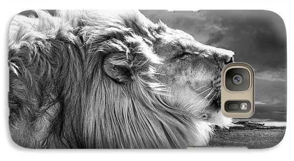 Galaxy Case featuring the photograph Lions Breath by Adam Olsen