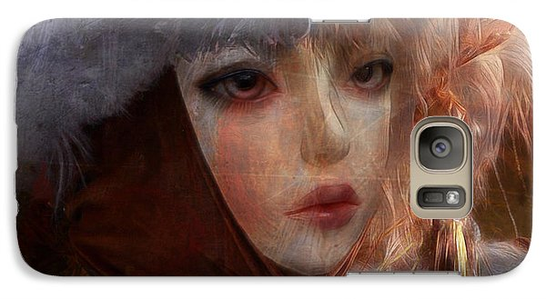 Galaxy Case featuring the digital art Liouneva Mirankaya by Barbara Orenya