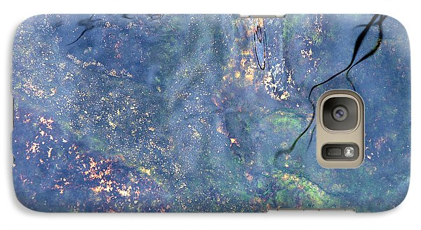 Galaxy Case featuring the photograph Liquid Light by Allen Carroll