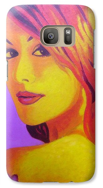 Lisa Darling IIi - The Irish Burlesque School Galaxy S7 Case by John  Nolan