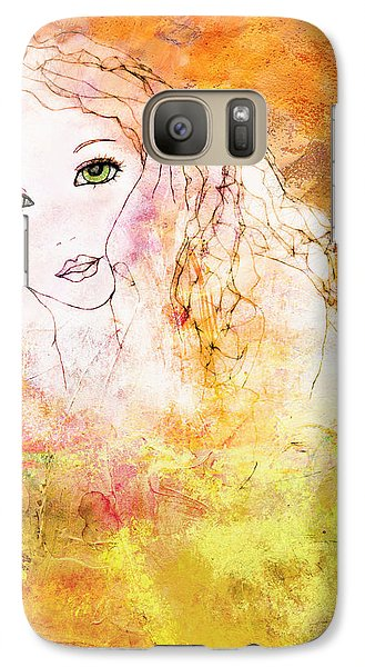Galaxy Case featuring the digital art Listen To The Colour Of Your Dreams by Barbara Orenya