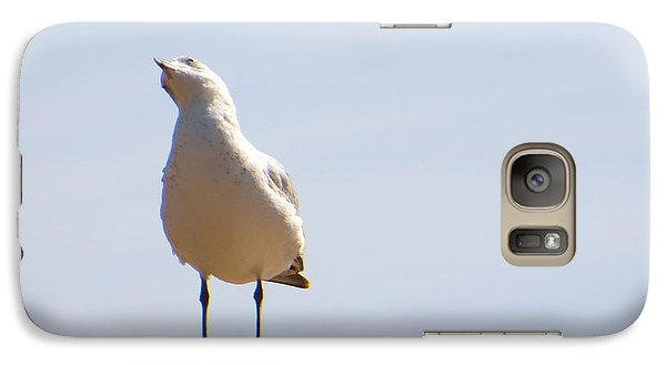 Galaxy Case featuring the photograph Listen-up by Joy Hardee
