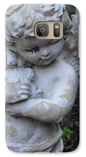 Galaxy Case featuring the photograph Little Angel by Beth Vincent