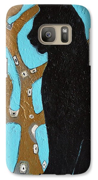 Galaxy Case featuring the painting Little Binky by Alison Caltrider