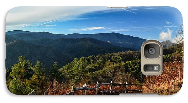 Galaxy Case featuring the photograph Little Cataloochee Overlook In Summer by Debbie Green