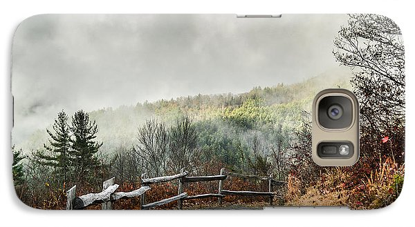 Galaxy Case featuring the photograph Little Cataloochee Overlook In The Great Smoky Mountains by Debbie Green