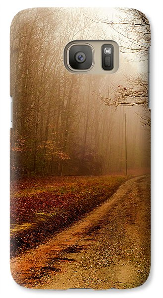 Galaxy Case featuring the photograph Little Dirt Road by Laura DAddona