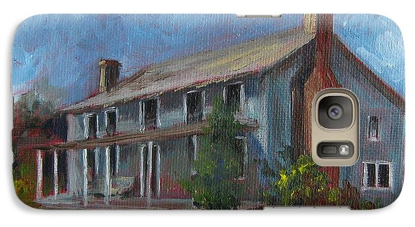 Galaxy Case featuring the painting Little Granny's Home Place by Gloria Turner