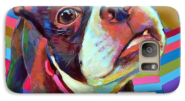 Galaxy Case featuring the painting Little Hank by Robert Phelps