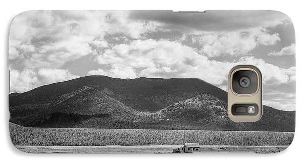 Galaxy Case featuring the photograph Little House On The Prairie by Dave Beckerman