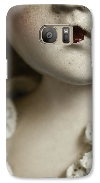 Galaxy Case featuring the photograph Little Lady  by Amy Weiss