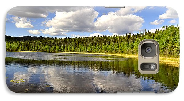 Galaxy Case featuring the photograph Little Lost Lake by Cathy Mahnke