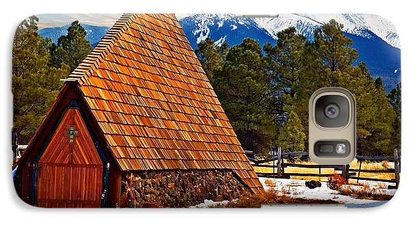 Galaxy Case featuring the photograph Little Mountain Church by Bob Pardue