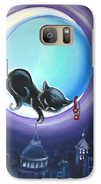 Galaxy Case featuring the painting Little Nap by Agata Lindquist