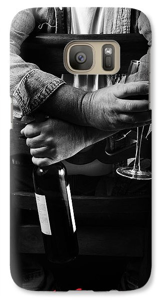 Galaxy Case featuring the photograph Little Old Wine Drinker Me by Duncan Selby