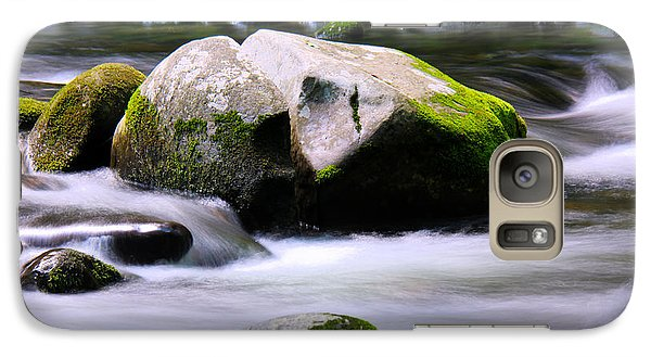 Galaxy Case featuring the photograph Little Piegon River Gatlinburg Tennessee by Jerome Lynch