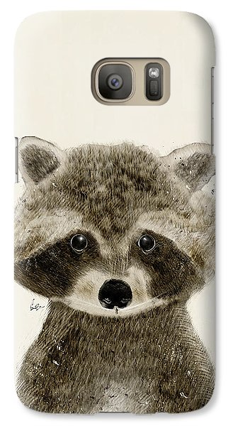 Little Raccoon Galaxy Case by Bri B