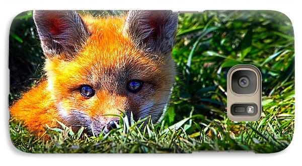 Little Red Fox Galaxy S7 Case