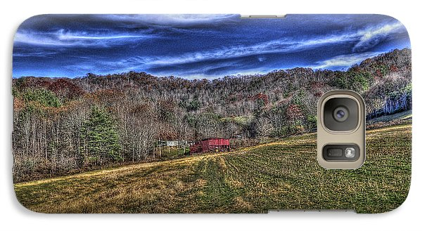 Galaxy Case featuring the photograph Little Red Hay Loft by Craig T Burgwardt