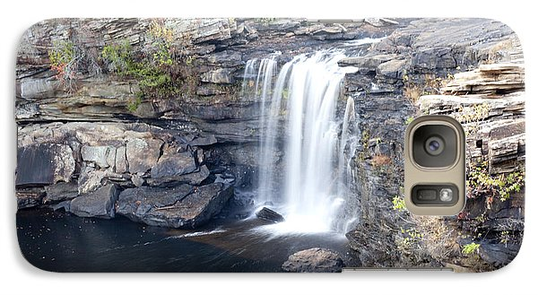 Galaxy Case featuring the photograph Little River Falls by Robert Camp