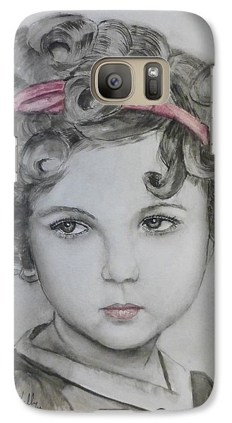 Little Shirley Temple Galaxy S7 Case