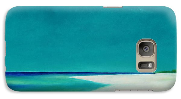 Galaxy Case featuring the painting Little St. George by Pam Talley