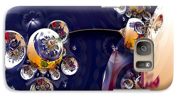 Galaxy Case featuring the digital art Little Tea Pot by Melissa Messick
