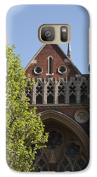 Galaxy Case featuring the photograph Little Venice Church by Maj Seda