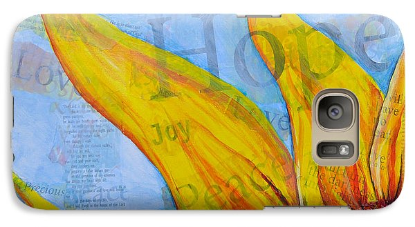 Galaxy Case featuring the painting Live Free by Lisa Fiedler Jaworski