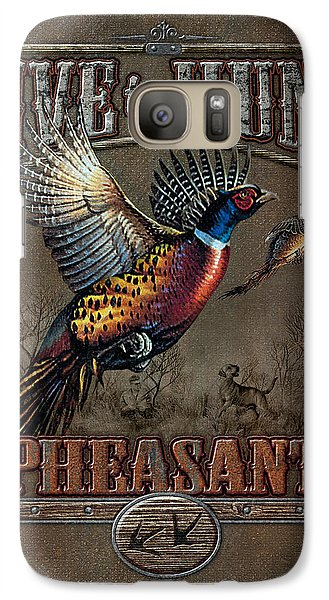 Live To Hunt Pheasants Galaxy S7 Case