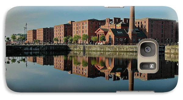 Galaxy Case featuring the photograph Liverpool Canning Docks by Jonah  Anderson