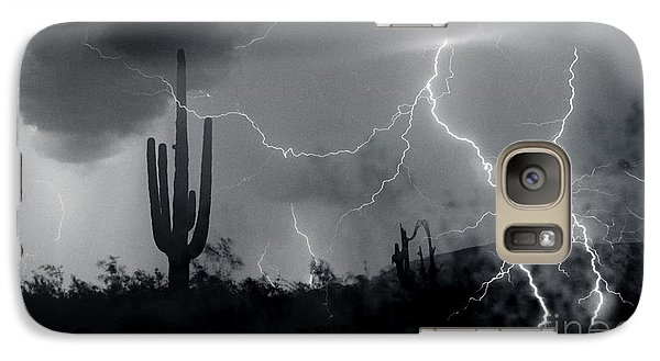 Galaxy Case featuring the photograph Living In Fear by J L Woody Wooden