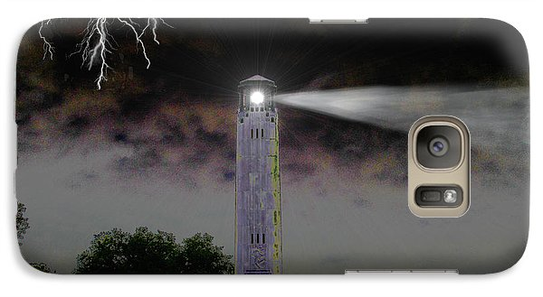 Galaxy Case featuring the digital art Livingston Lighthouse by Michael Rucker