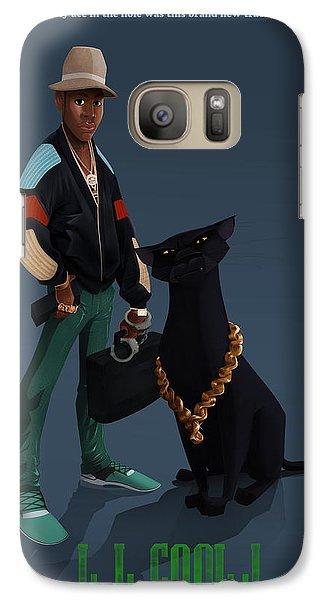 Galaxy Case featuring the digital art Ll Cool J 2 by Nelson Dedos Garcia