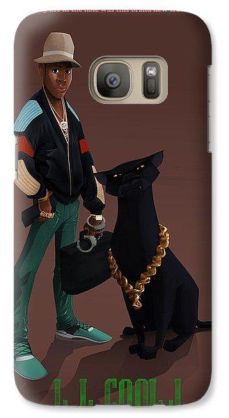 Galaxy Case featuring the digital art Ll Cool J by Nelson Dedos Garcia