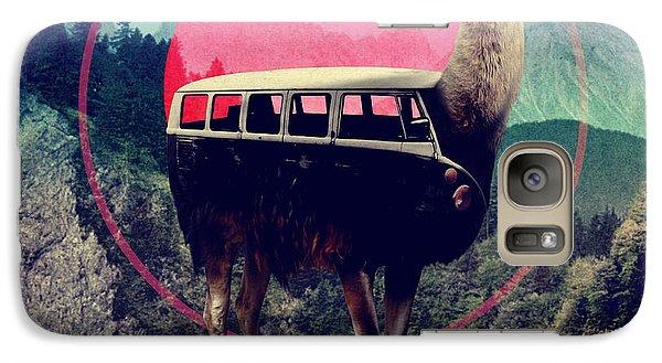 Llama Galaxy S7 Case - Llama by Ali Gulec