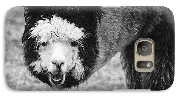 Llama Galaxy S7 Case by Yulia Kazansky