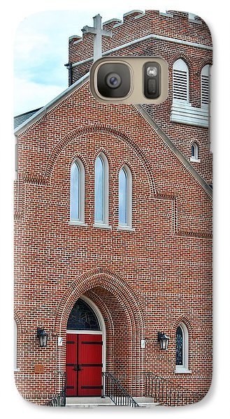 Galaxy Case featuring the photograph Local Church by Linda Segerson