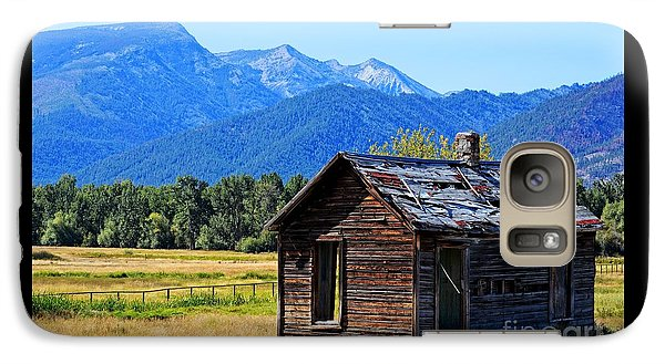 Galaxy Case featuring the photograph Location Location Location Montana by Joseph J Stevens