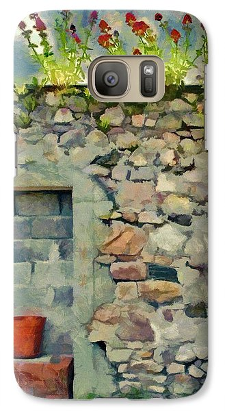 Galaxy Case featuring the painting Location With A View by Jeff Kolker