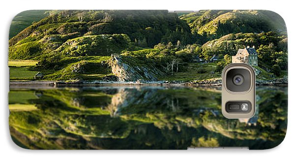 Loch Crinan Scotland And Duntrune Castle Galaxy S7 Case