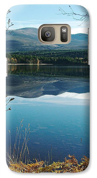Galaxy Case featuring the photograph Loch Morlich - Autumn by Phil Banks
