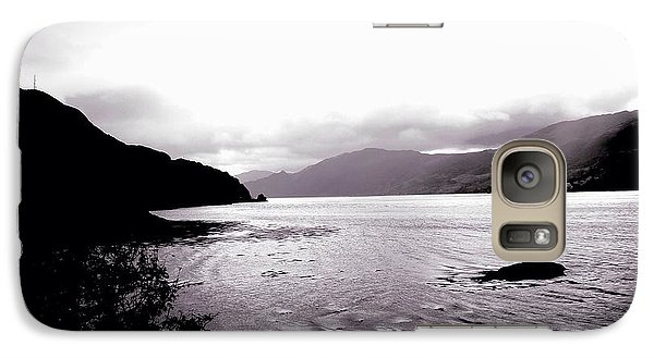 Galaxy Case featuring the photograph Loch Of Shadows by Andy Heavens